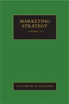 Marketing Strategy - Herausgeber: Cadogan, John