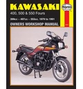 Kawasaki 400, 500 and 550 Fours 1979-88 Owner's Workshop Manual - Jeremy Churchill