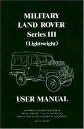 User Manual for Military Land Rover Series III (Lightweight) - Brooklands Books Ltd