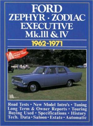Zephyr, Zodiac & Executive Mk III & IV 1962-1971