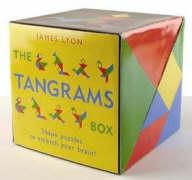 The Tangrams Box: Shape Puzzles to Stretch Your Brain! [With 2 Sets of Tans and Tangram Board]