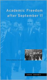 Academic Freedom after September 11 - Beshara Doumani (Editor)