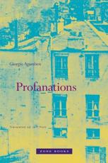 Profanations - Giorgio Agamben