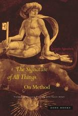 The Signature of All Things - Giorgio Agamben