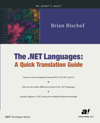 Bischof, Brian: The .NET Languages