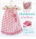 Making Children's Clothes - Emma Hardy