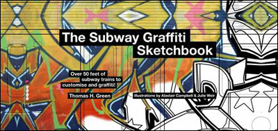 Subway graffiti sketchbook - Ilex