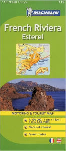 Michelin ZOOM France: French Riviera, Esterel Map 115 Michelin Author