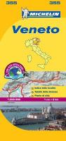 Michelin Map Italy: Veneto 355 Michelin Author
