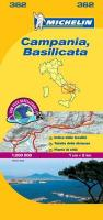 Michelin Map Campania, Basilicata