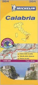 Michelin Map Italy: Calabria 364 Michelin Author