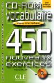 Cd-rom vocabulaire 450 exercices niveau intermediaire - Thierry Gallier