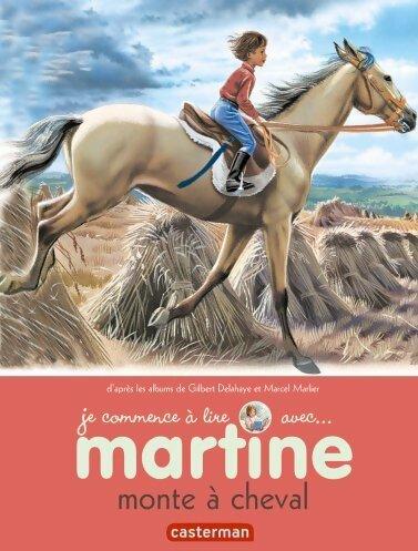 Martine monte à cheval - Gilbert Delahaye
