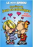 Mon livre de jeux et coloriages avec stickers - Collectif