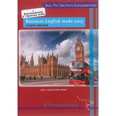 Business English made easy Bac Pro sections européennes