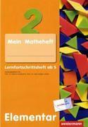 Erste Grundlagen in Mathematik. Lernfortschrittsheft ab 5 Jahre