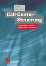 Call Center-Steuerung - Bodo B��se (author), D��rte D��rte Klasing (contributions), Erhard Flieger (author), Matthias Temme (author)