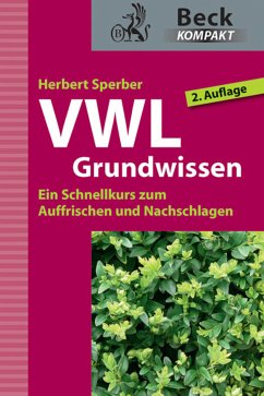VWL Grundwissen (eBook, ePUB) - Sperber, Herbert