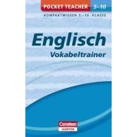 Pocket Teacher Englisch - Vokabeltrainer 5.-10. Klasse - Marion Krause