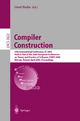 Compiler Construction - Görel Hedin