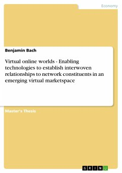 Virtual online worlds - Enabling technologies to establish interwoven relationships to network constituents in an emergi - Bach, Benjamin
