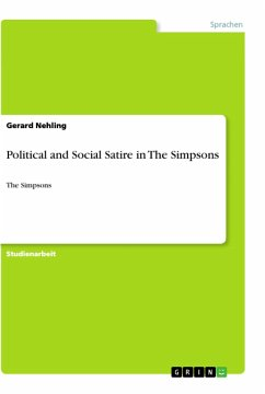 Political and Social Satire in The Simpsons - Hübers, Sebastian