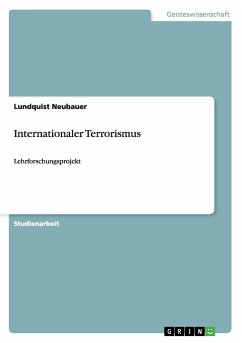 Internationaler Terrorismus - Bergqvist, Hannes