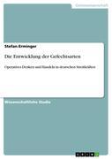 Erminger, Stefan: Die Entwicklung der Gefechtsarten