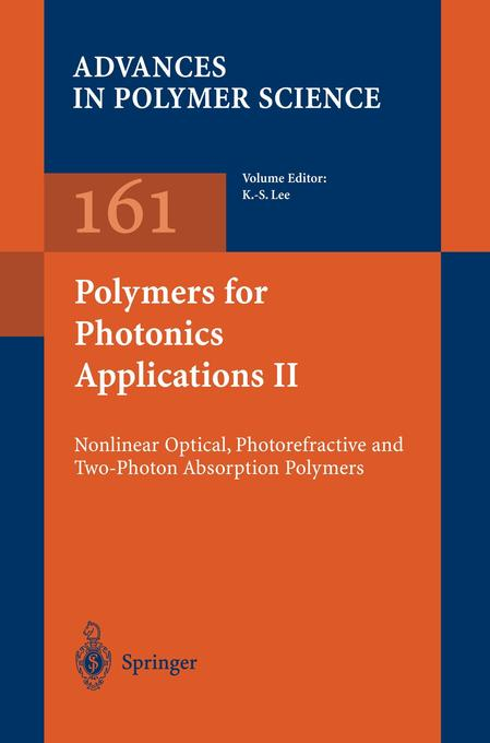 Polymers for Photonics Applications II als Buch von - Springer