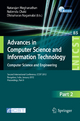 Advances in Computer Science and Information Technology. Computer Science and Engineering - Natarajan Meghanathan; Nabendu Chaki; Dhinaharan Nagamalai