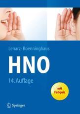 Hals-Nasen-Ohren-Heilkunde - Thomas Lenarz, Hans-Georg Boenninghaus