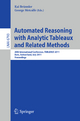 Automated Reasoning with Analytic Tableaux and Related Methods - Kai Brünnler; George Metcalfe