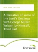 A Narrative of some of the Lord's Dealings with George Müller Written by Himself, Third Part - George Müller