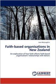 Faith-based organisations in New Zealand - Jane McLoughlin