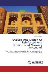 Analysis And Design Of Reinforced And Unreinforced Masonry Structures