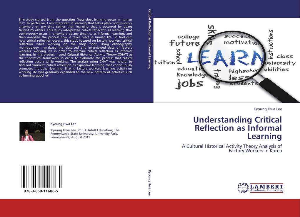 Understanding Critical Reflection as Informal Learning als Buch von Kyoung Hwa Lee - LAP Lambert Academic Publishing