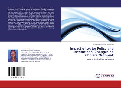 Impact of water Policy and Institutional Changes  on Cholera Outbreak - Anthony Benedictor Burambo