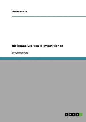 Risikoanalyse Von It-Investitionen