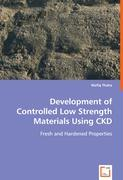 Development of Controlled Low Strength MaterialsUsing CKD