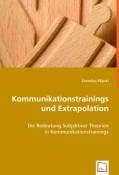 Filipski, Cornelius: Kommunikationstrainings und Extrapolation