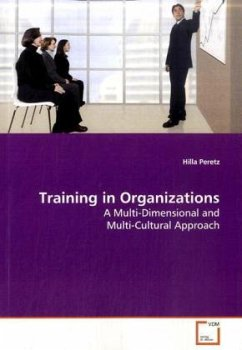 Training in Organizations - Peretz, Hilla