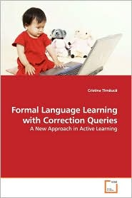 Formal Language Learning With Correction Queries - Cristina Tirnauca
