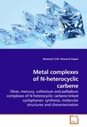 Metal complexes of N-heterocyclic carbene
