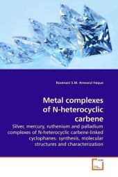 Metal complexes of N-heterocyclic carbene - Rosenani S. M. A. Haque