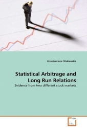 Statistical Arbitrage and Long Run Relations - Konstantinos Sfakianakis