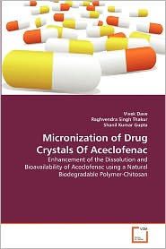 Micronization Of Drug Crystals Of Aceclofenac