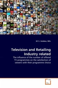 Television and Retailing Industry related - Hulsbos, MSc, B. P. J.