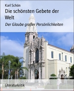 Karl Schön: Die schönsten Gebete der Welt