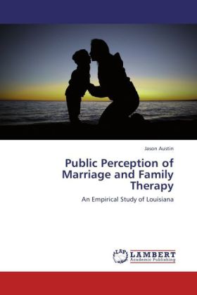 Public Perception of Marriage and Family Therapy als Buch von Jason Austin - Jason Austin