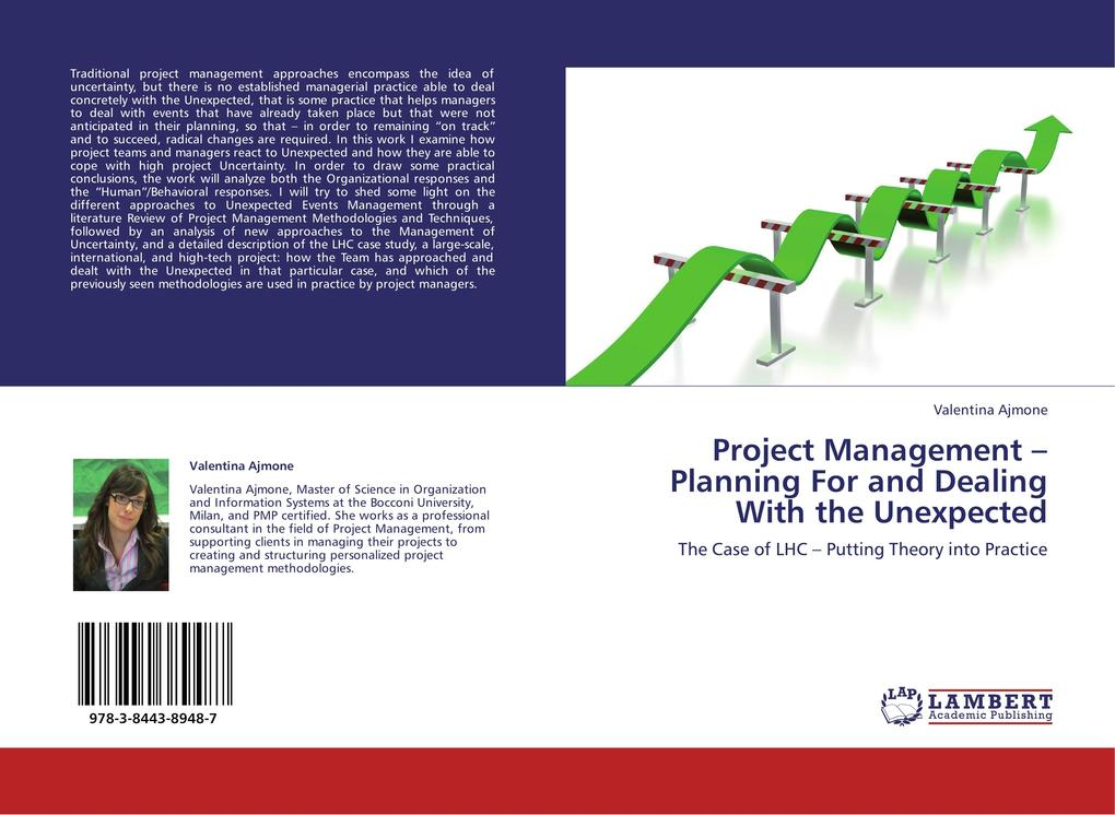 Project Management - Planning For and Dealing With the Unexpected als Buch von Valentina Ajmone - Valentina Ajmone
